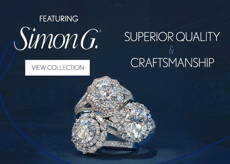 Simon G Now Available at Bill LeBoeuf Jewellers