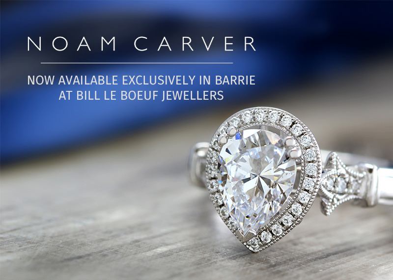 Noam Carver Now Exclusively At Bill LeBoeuf Jewellers