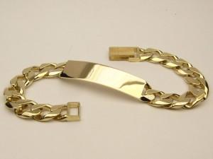 e6184 I.D. bracelet 10 karat