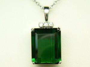 e2374 green tourmaline