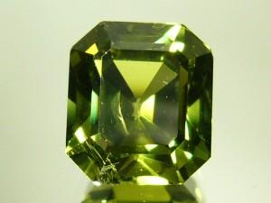 e7566.1 green sapphire 5.48 ct.