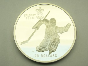 hockey coin $20.00 cdn