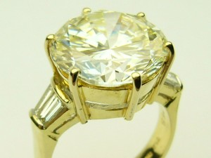 7.68ct VVS2-M rbcd ring