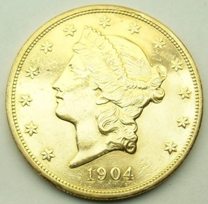 e7932 $20 US gold coin