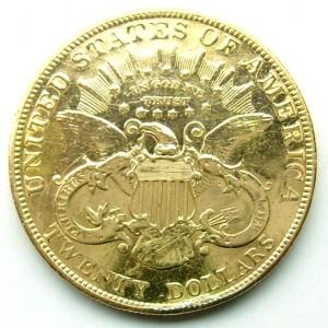 e7932.1 U.S. $20 gold coin