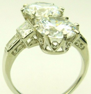 e7980.1 art deco dia/cz plat ring