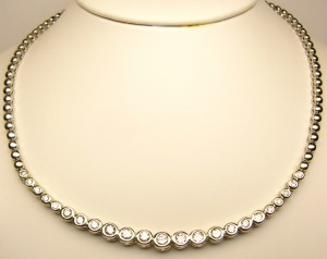 e8071.1 diamond necklace 2.10ct