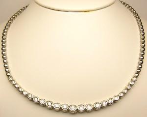 e8071.1 diamond necklace 2.10ct
