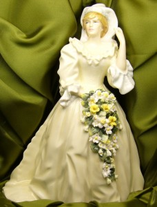 e8192 Royal Doulton Princess Dianna HN 2887