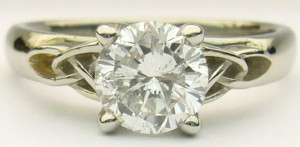 e8249 0.97ct Celtic solitaire