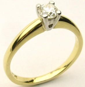 e8411 18kt/plat dia ring