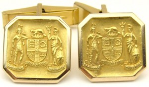 e8525 Toronto Coat of Arms BIRKS cufflinks