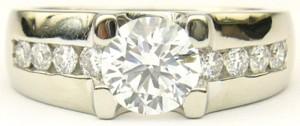 e8527 I DO diamond ring