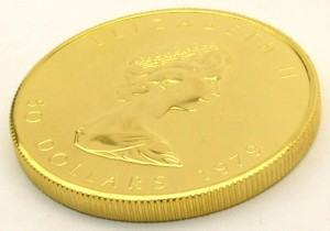 e8563.1 Canadian fine gold 999 coin