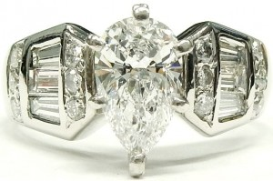 e8147 1.20ct. VS2-D GIA cert. 1162065430 ring