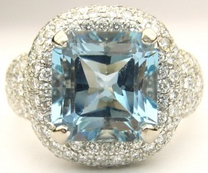 e8535 5.50ct aquamarine ring