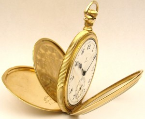 e8495.2 Omega 21 jewel 5 adjustment pocket watch