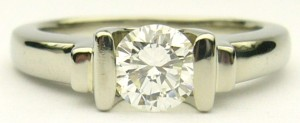 e8795 0.50ct diamond solitaire