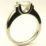 e8795.1 custom made 0.50ct. diamond solitaire