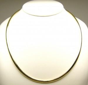 e8820 14kt omega necklace