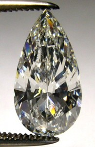 e8863 pear shaped 2.01ct SI2-I GIA certified diamond
