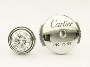 e8914.2 Cartier diamond studs B8041400