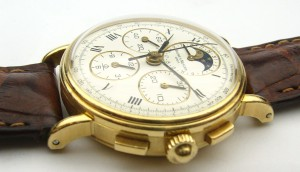 Baume & Mercier 18kt chronograph moonphase e8980 86 102 099