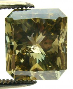 e8068.5 3.05ct. I2 treated green diamond