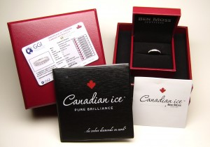 e8964 Canadian diamond anniversary ring
