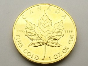 e8968 Fine gold Canadian $50.00 coin