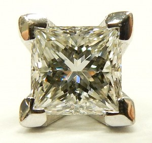 e8355 0.41ct. VS2-I princess cut GIA certified