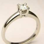 e9034 BIRKS diamond ring platinum