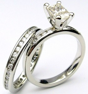 e9080.1 e9082.2 clarity enhanced diamond ring set