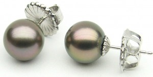 e9260.1 black Tahitian pearls south sea