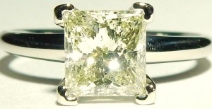 e9351 1.19ct. I1-LM princess cut