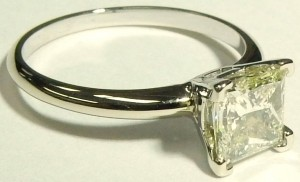 e9351.1 1.19ct. princess cut