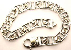 e6678-14-karat-white-gents-bracelet
