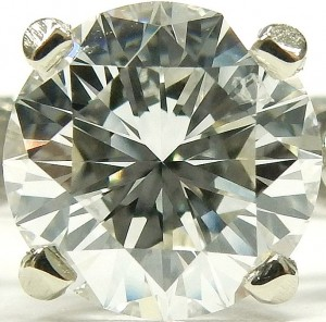 e9024 18kt . solitaire 1.03ct. SI2-F GIA certirfied