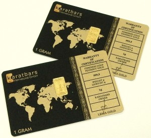 e9488 9999 fine gold 1 gram bars karatbars