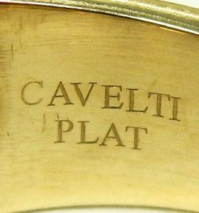 e9445.1 BIRKS Cavelti 18 karat platinum diamond ring