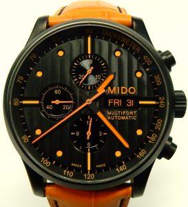 e9651 MIDO Multifort special edition orange M005614A