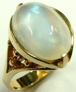 e9720 10 karat moonstone ring Siffari