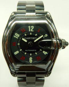 e9819 Cartier Roadster 2510 rare dial