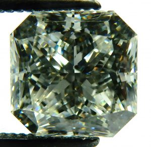 e9834 2.91ct. radiant cut diamond GIA certified SI1-H 001