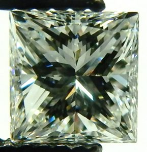e9849 0.51ct. VVS2-F pincess cut GIA cert  2175789828 001