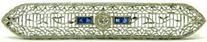 e10133-art-deco-platinum-14-karat-diamond-sapphire-brooch-001