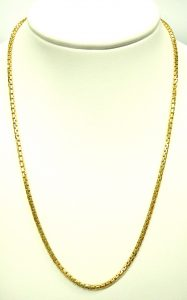 e10281 18 karat 2.0mm box link necklace 002