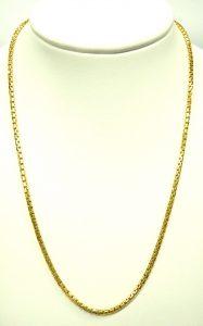 e10281 18 karat 2.0mm box link necklace 002