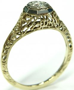 Engagement & Wedding Impartial Titanium Black Rubber Flat 8mm Brushed Wedding Ring Band Size 6.50 Type Of