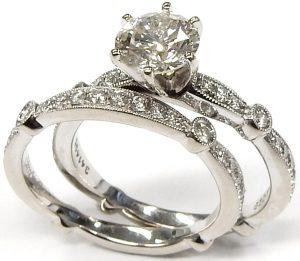 1e473ff9351 Simon G engagement wedding ring set MR1546  4